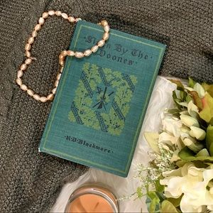 1895 Vintage Green Hardcover with Deckled Edges